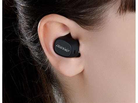 auvisio True Wireless In-Ear-Stereo-Headset mit Lade-Etui
