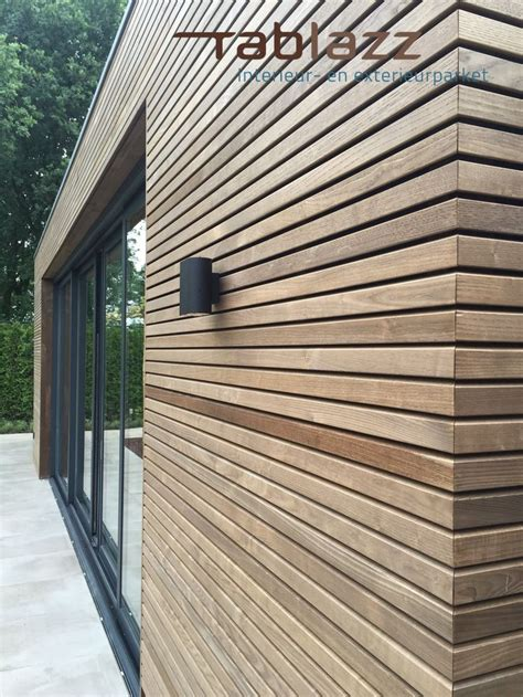 Thermowood / Thermohout | voor gevelbekleding of