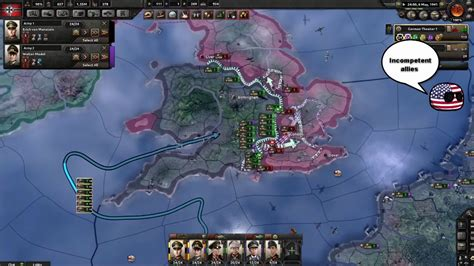 Hoi4 MP in a nutshell episode 32(Operation Sealion) - YouTube